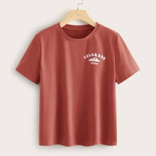 Letter Graphic Tee
