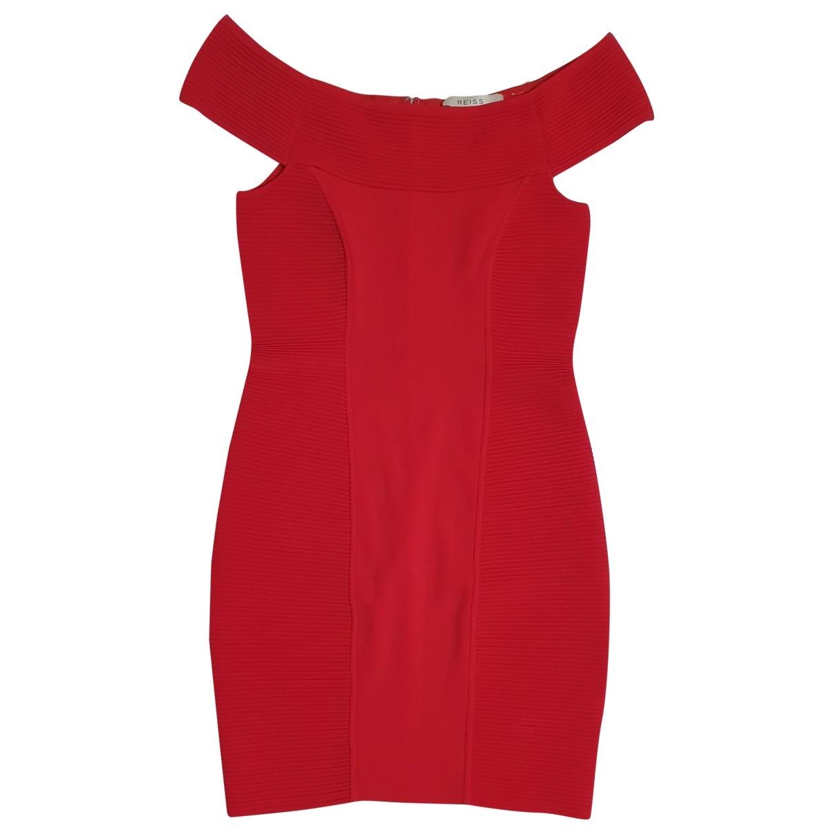 Reiss \N Kleid in  Rot Polyester