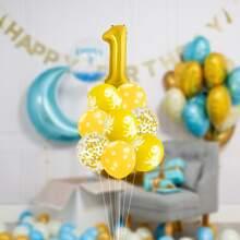 1set 1st Birthday Decorative Balloon