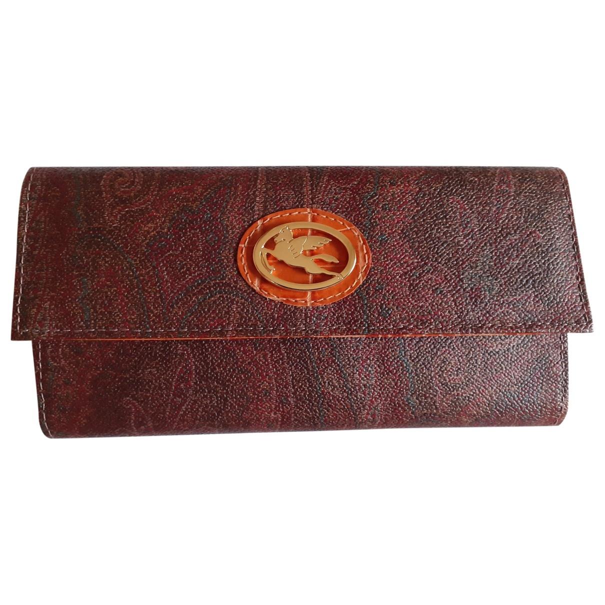 Etro - Portefeuille   pour femme en cuir