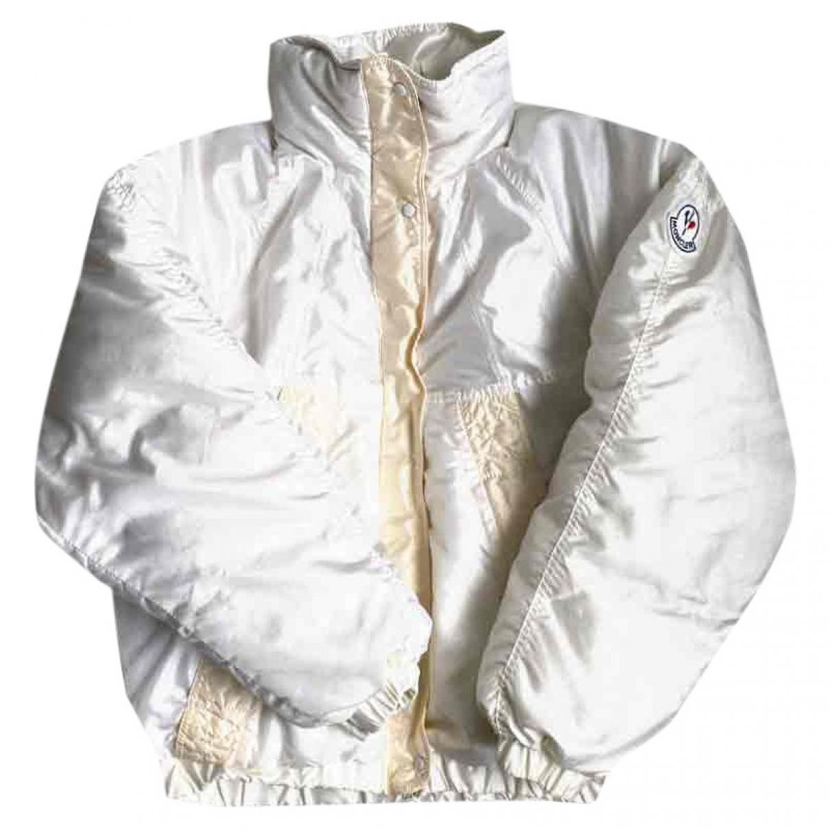Moncler - Manteau   pour femme - ecru