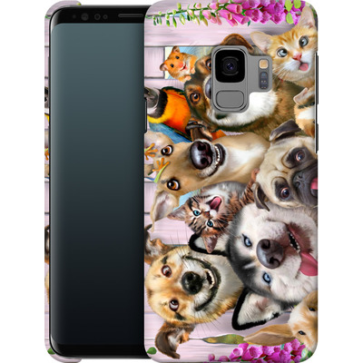 Samsung Galaxy S9 Smartphone Huelle - Pet Selfie von Howard Robinson