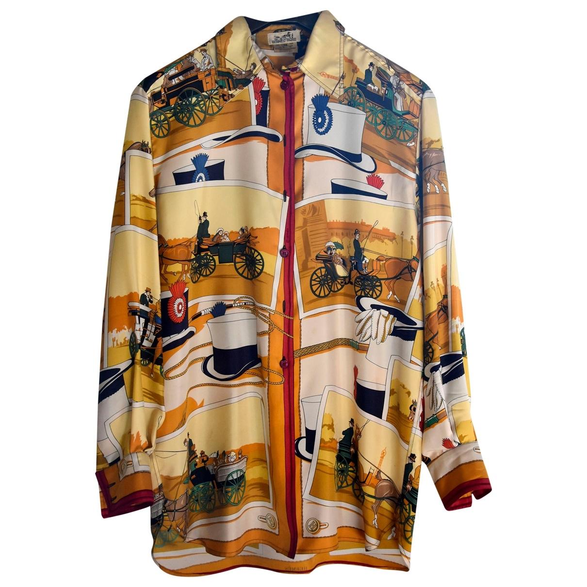 Camisa de Seda Hermes