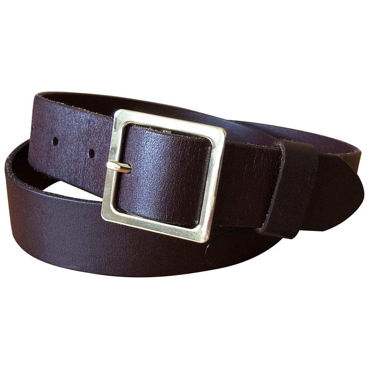 Cinturon de Cuero Frame Denim