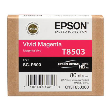 Epson T850 T850300 Original UltraChrome Vivid Magenta Ink Cartridge