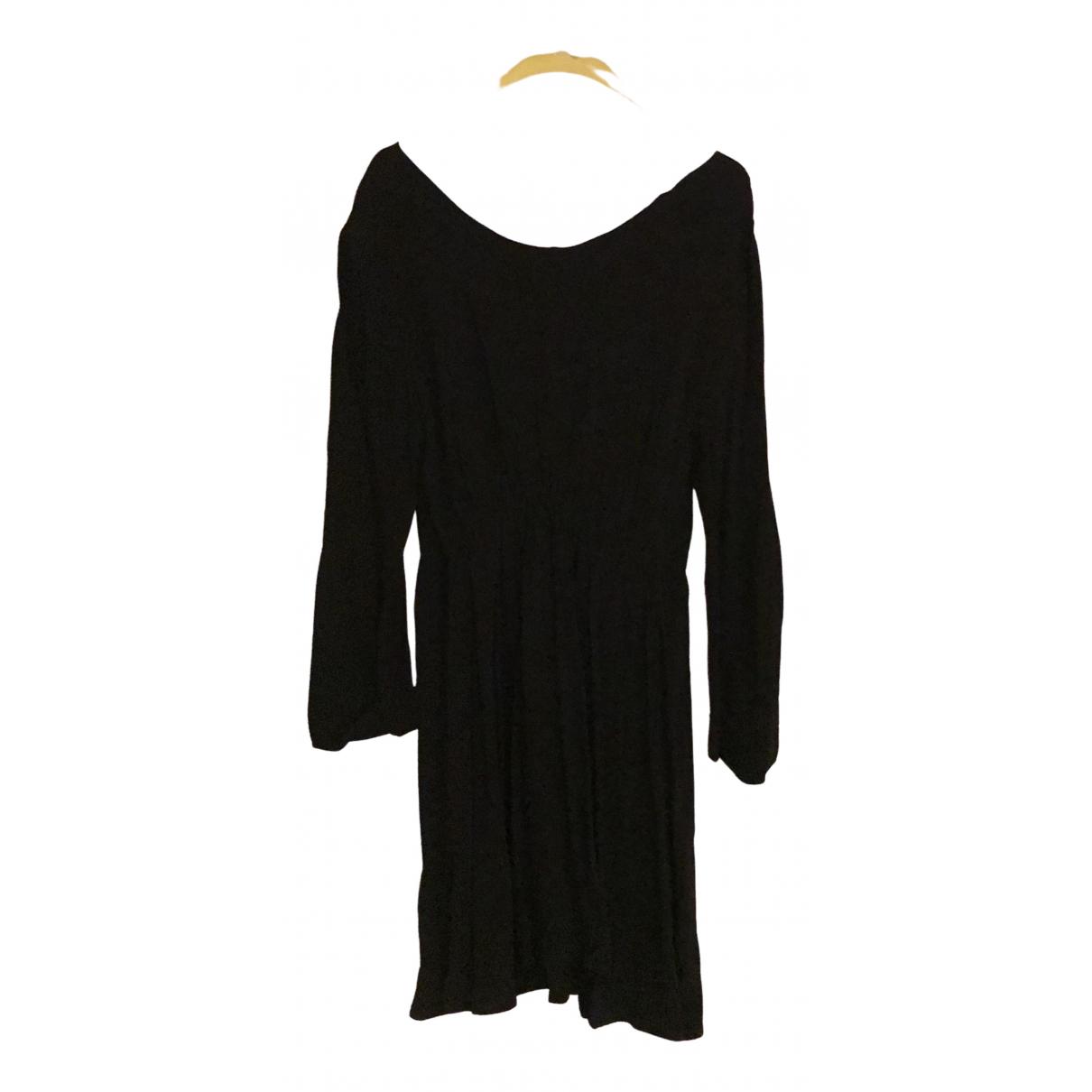 American Vintage \N Kleid in  Schwarz Viskose