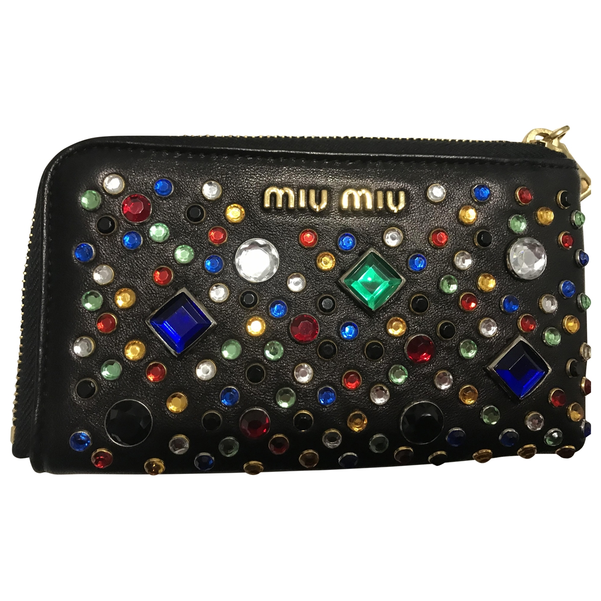 Miu Miu \N Black Leather wallet for Women \N