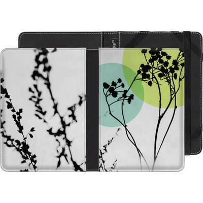 Amazon Kindle eBook Reader Huelle - Abstract Flowers 2 von Mareike Bohmer