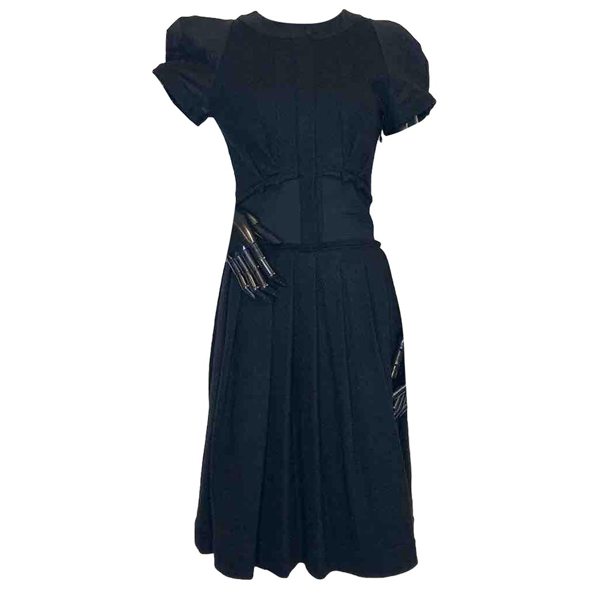 Viktor & Rolf \N Black Wool dress for Women 38 IT