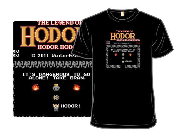 The Legend Of Hodor T Shirt