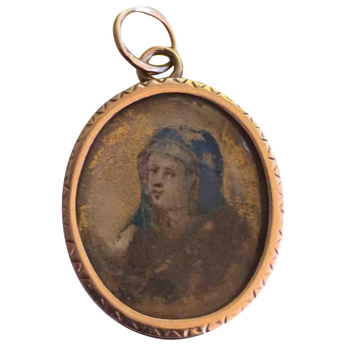 - Pendentif Medailles pour femme en or jaune - jaune
