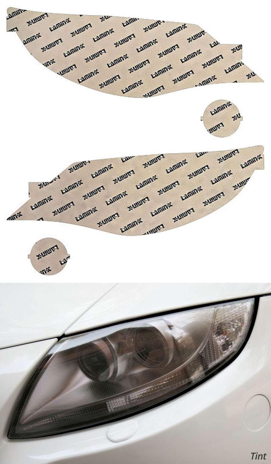 Subaru Outback Sport 08-11 Tint Headlight Covers Lamin-X S524T