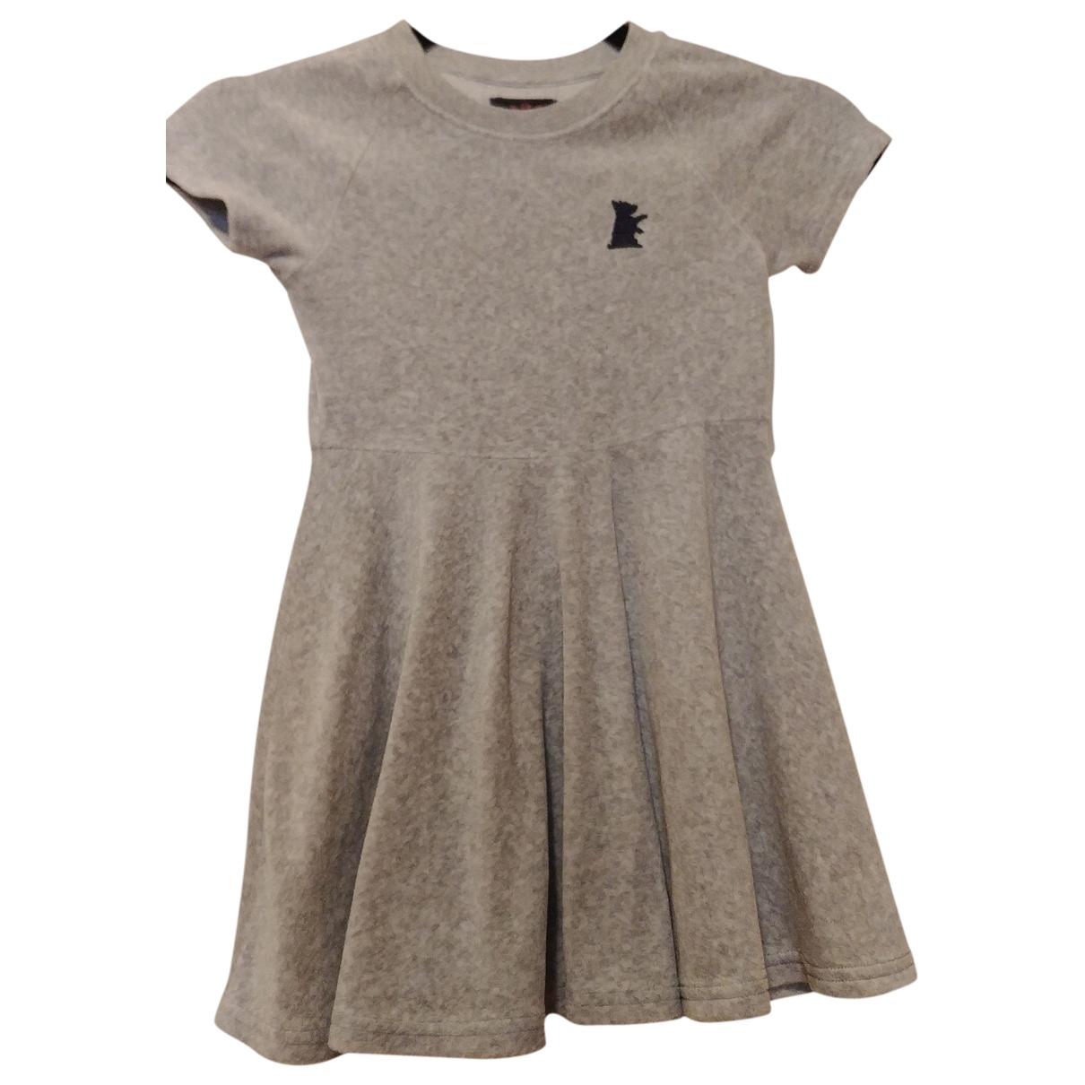 Juicy Couture \N Kleid in  Grau Baumwolle