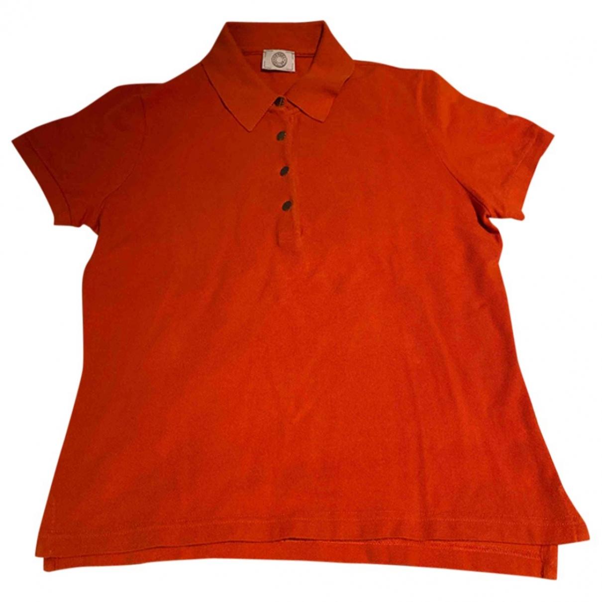 Top en Algodon Naranja Hermes