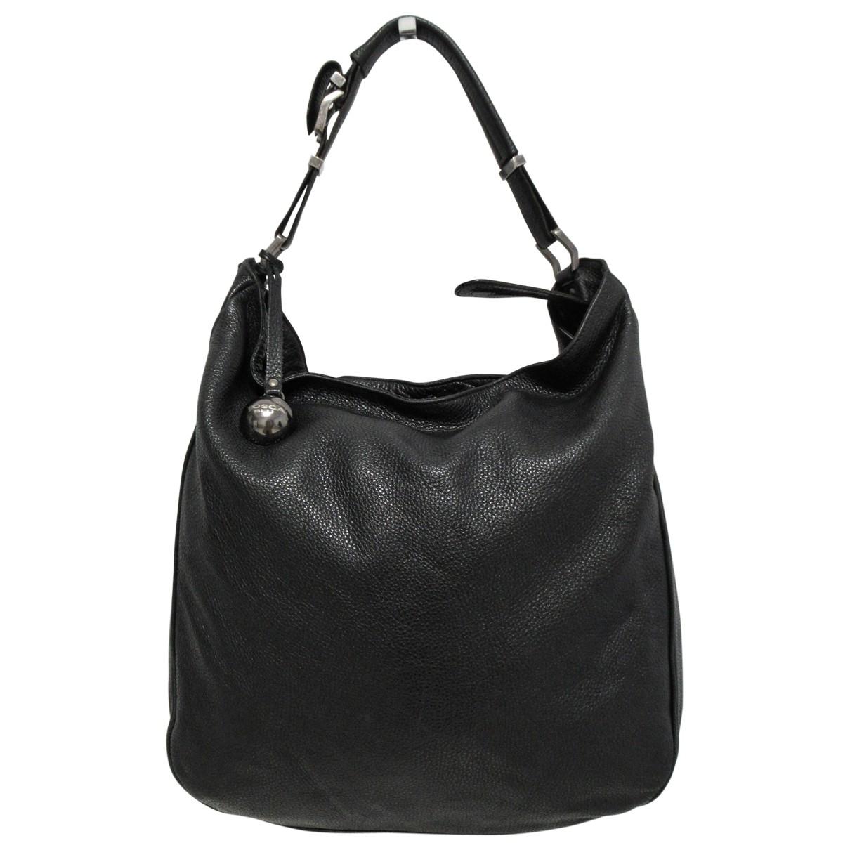 Tosca Blu - Sac a main   pour femme en cuir - noir