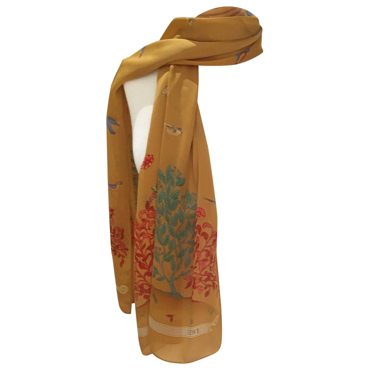 Loewe - Foulard   pour femme en soie