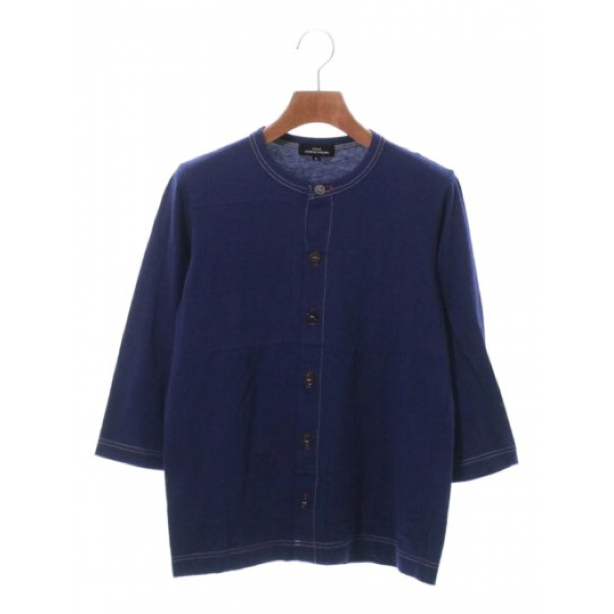 Comme Des Garcons - Top   pour femme en coton - bleu