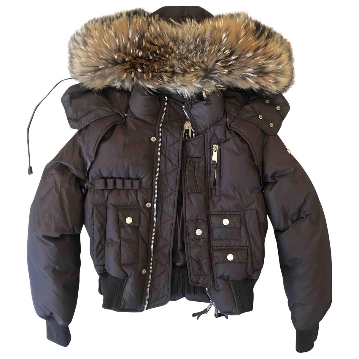 Dsquared2 - Manteau   pour femme en fourrure - marron