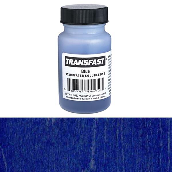 Blue Transfast Water Soluble Dye 2 oz