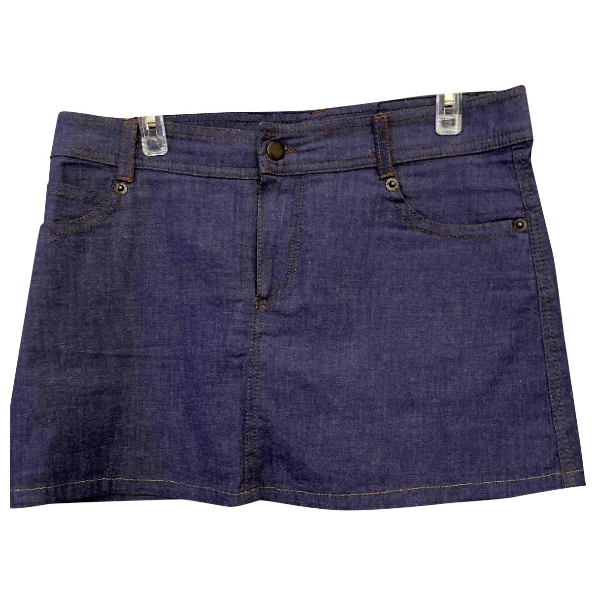 D&g - Jupe   pour femme en denim - violet