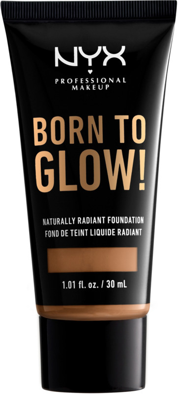 Born To Glow Naturally Radiant Foundation - Warm Honey (medium tan w/ warm undertone)