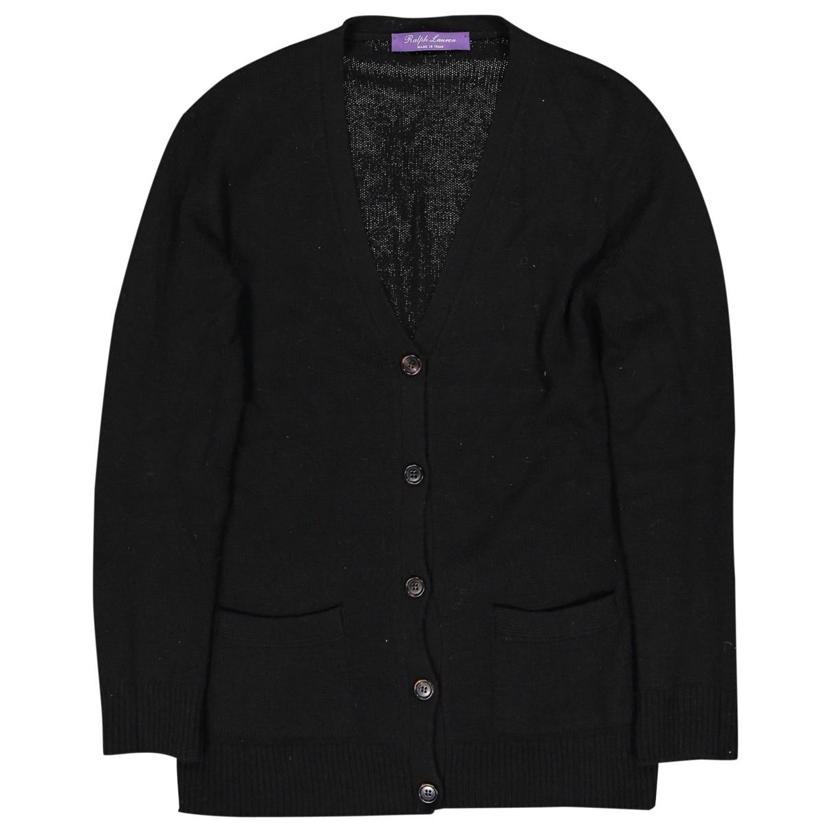Ralph Lauren \N Black Cashmere Knitwear for Women 40 FR