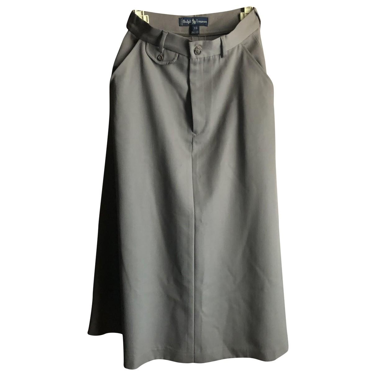 Ralph Lauren - Jupe   pour femme en laine - beige