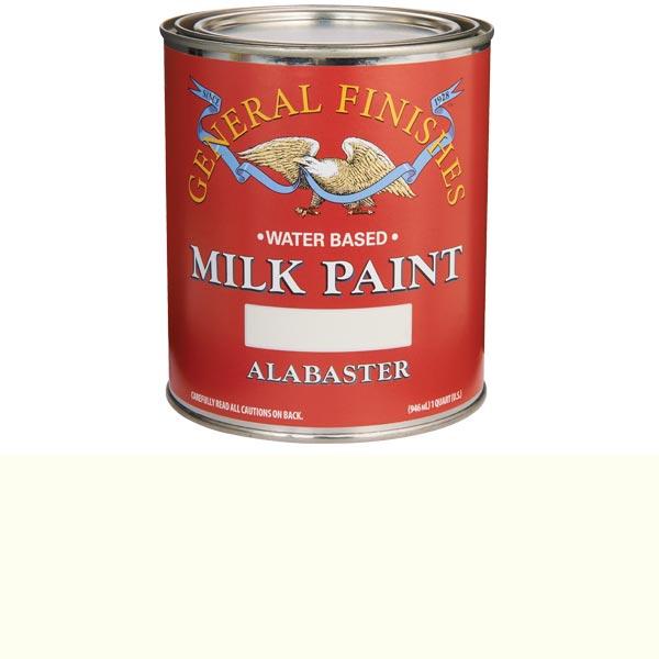 Alabaster Milk Paint Water Based Quart