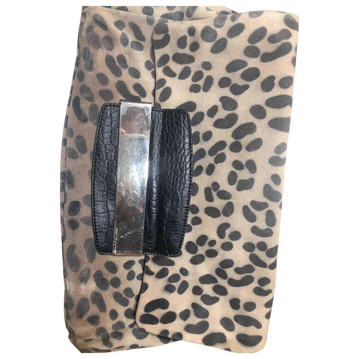 Jimmy Choo For H&m \N Camel Clutch bag for Women \N