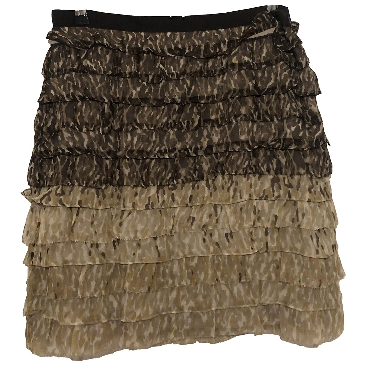 Worth \N Brown Silk skirt for Women 4 US