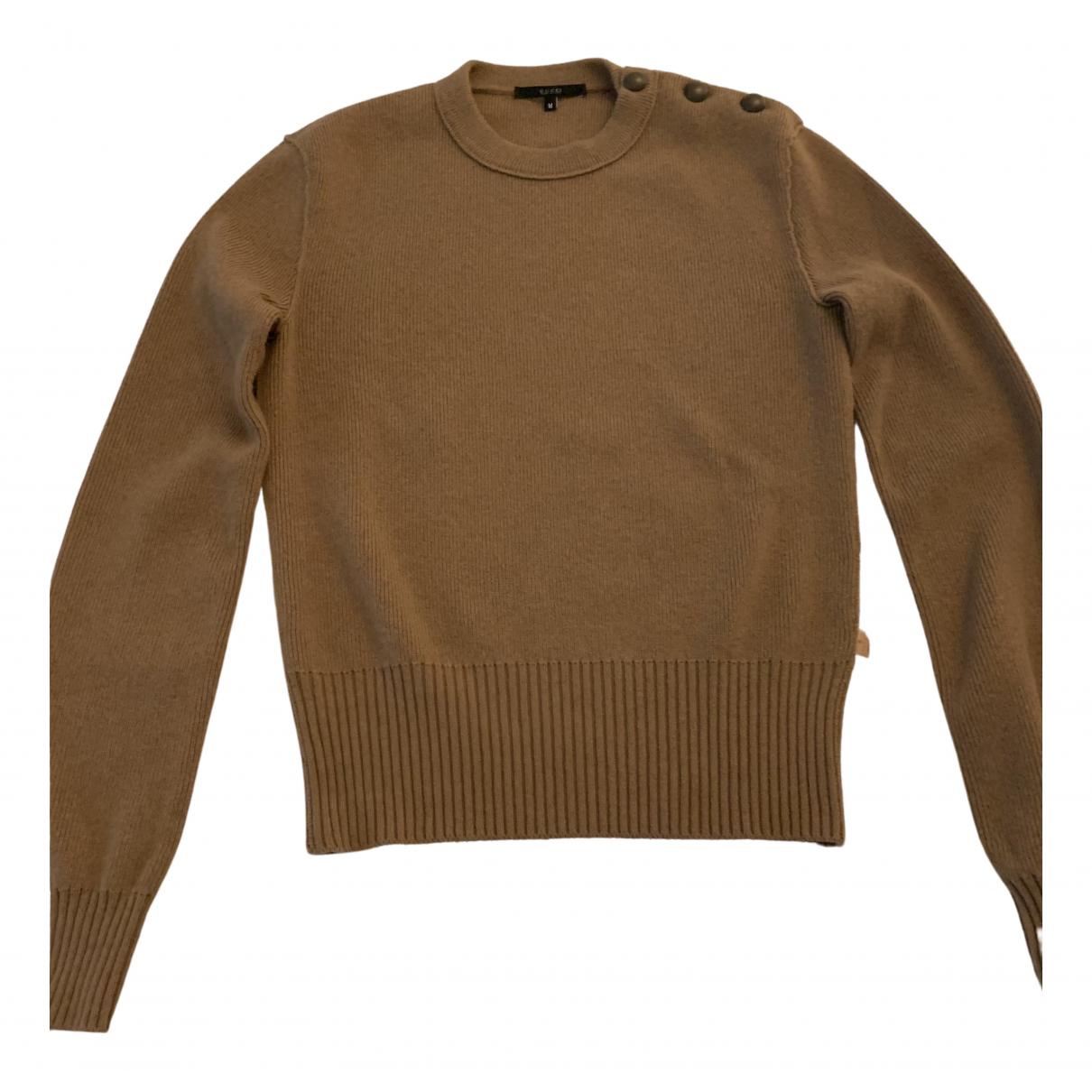 Gucci - Pulls.Gilets.Sweats   pour homme en laine - camel