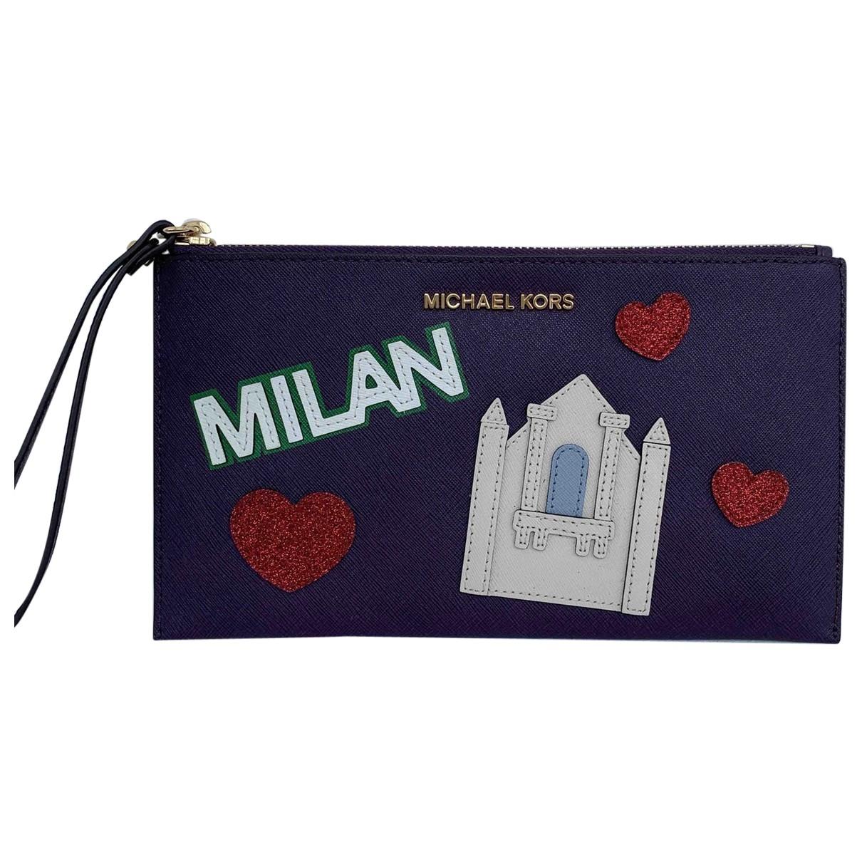 Michael Kors \N Purple Clutch bag for Women \N