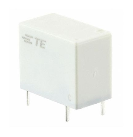 TE Connectivity , 12V dc Coil Non-Latching Relay SPNO, 8A Switching Current PCB Mount Single Pole (5)