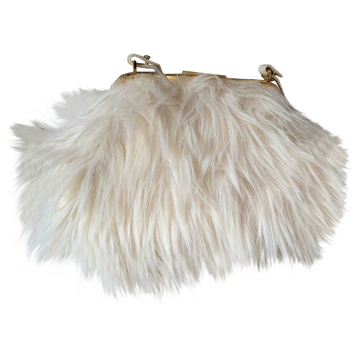 D&g N Faux fur handbag for Women N