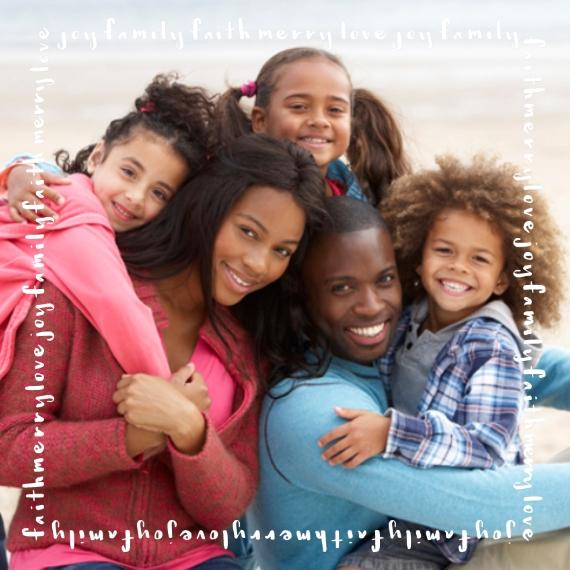 Family + Friends 8x8 Designer Print - Glossy, Prints -Joy Faith Merry Family