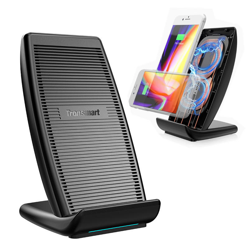 Tronsmart WC05 Quick Wireless Charger with Cooling Fan for iPhone X/8 Plus Galaxy S8