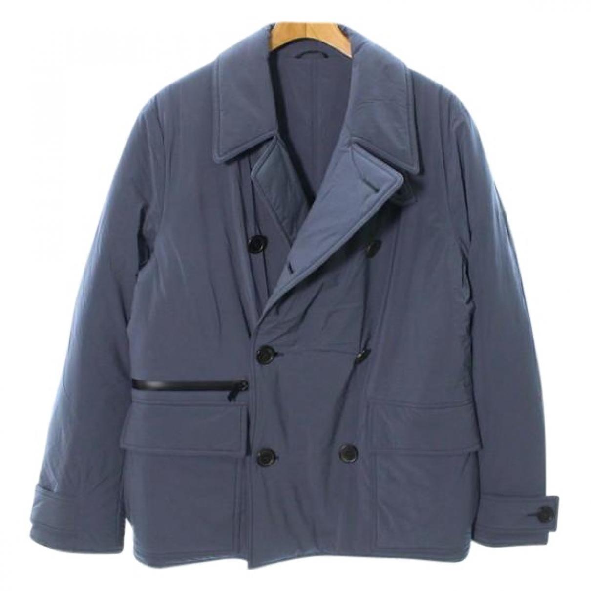 Hermes - Manteau   pour homme - bleu
