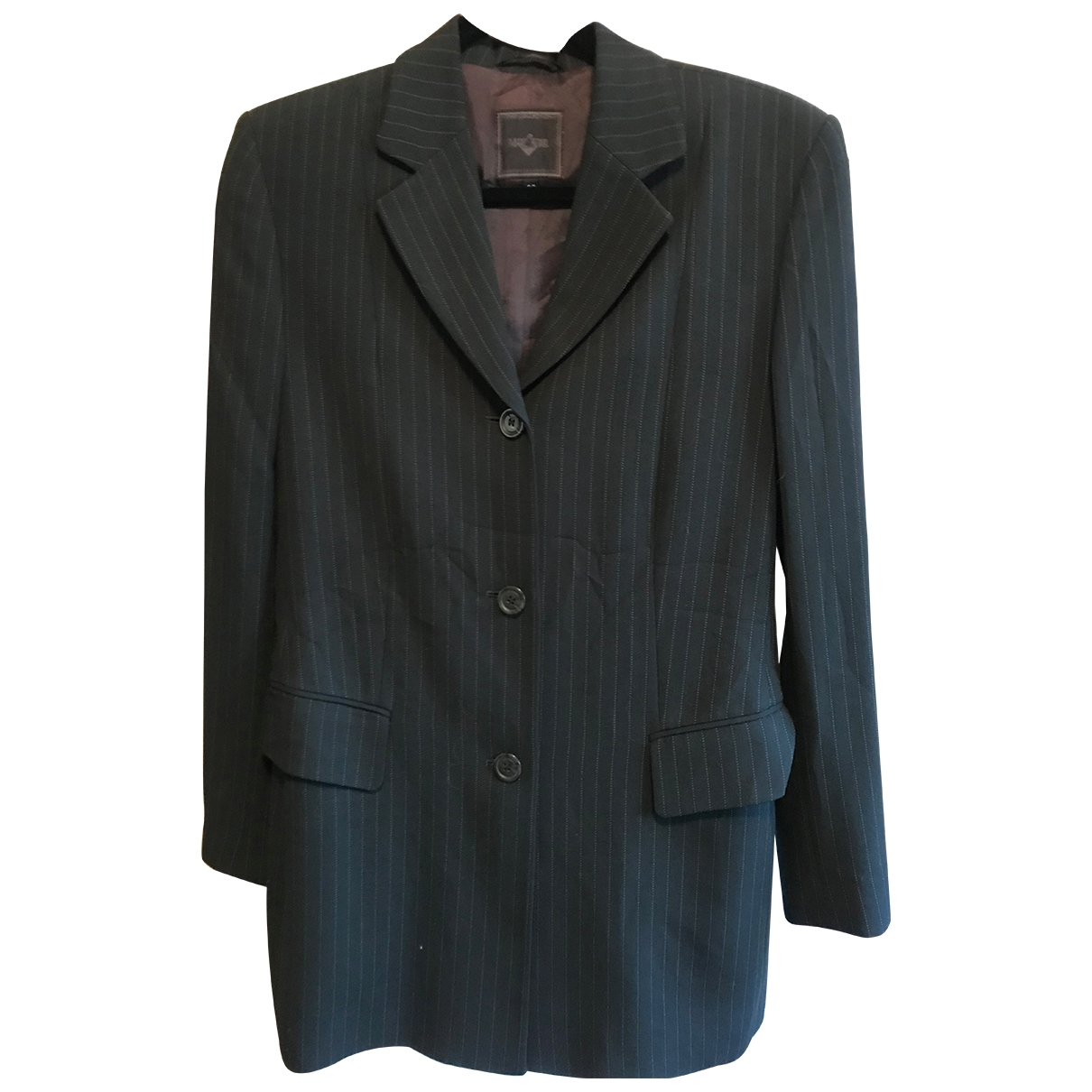 Non Signé / Unsigned \N Green Wool jacket for Women 36 FR