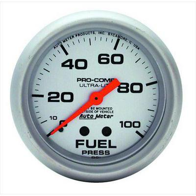 Auto Meter Ultra-Lite Mechanical Fuel Pressure Gauge - 4412