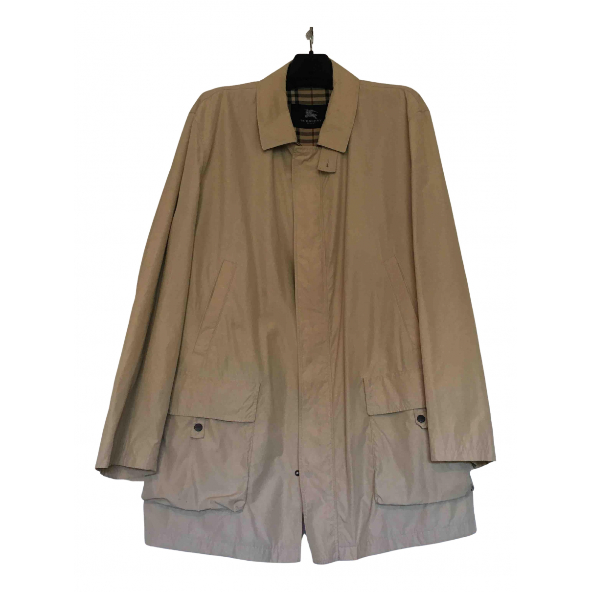Burberry N Beige coat  for Men XXXL International