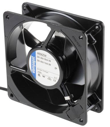 ebm-papst , 230 V ac, AC Axial Fan, 119 x 119 x 38mm, 160m³/h, 19W