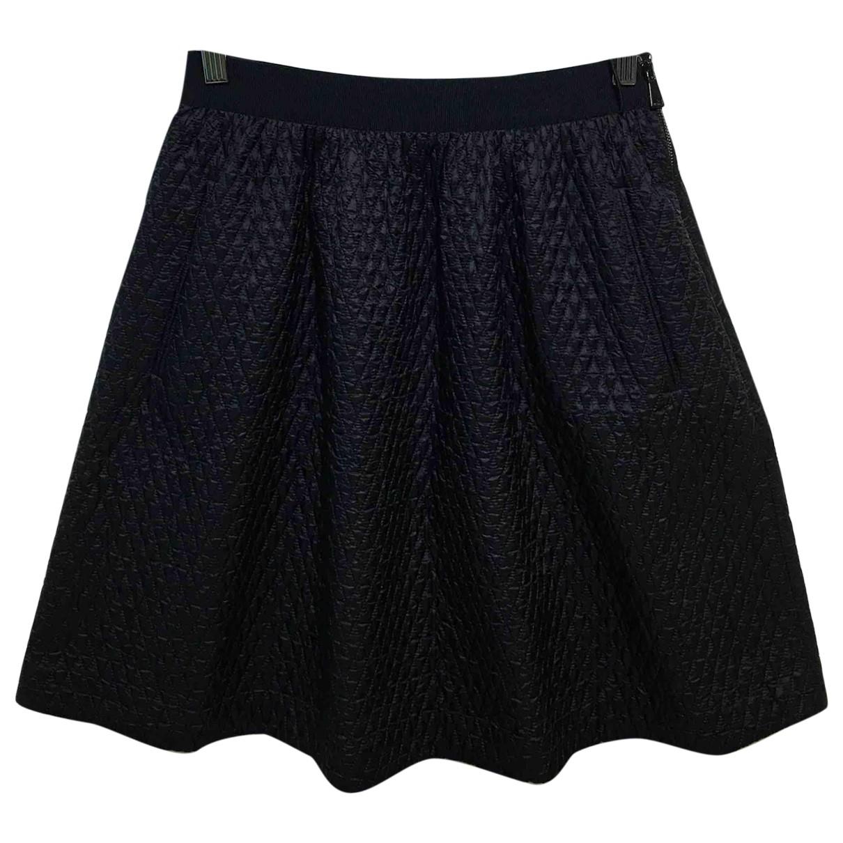 Moncler - Jupe   pour femme en coton - noir