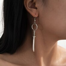 Sword Drop Earrings