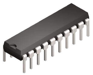 Analog Devices LTC1290DCN#PBF, 12-bit Serial ADC 8-Channel Differential, Single Ended Input, 20-Pin PDIP