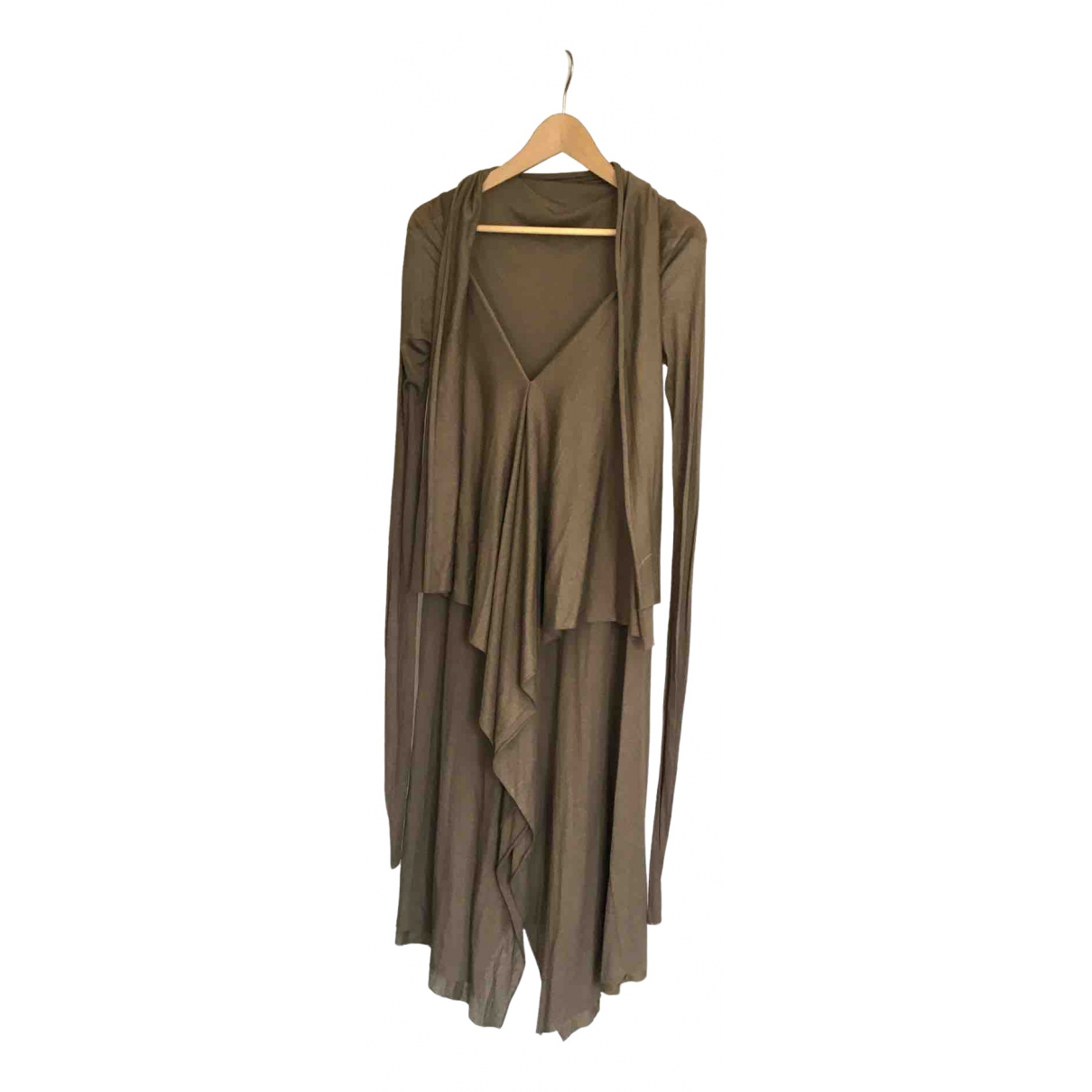 Rick Owens Lilies \N Brown dress for Women 40 IT
