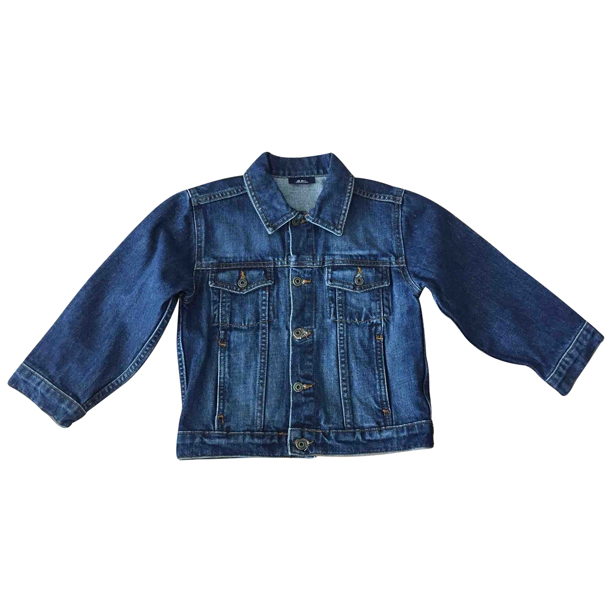 Zara \N Jacke, Maentel in  Blau Denim - Jeans