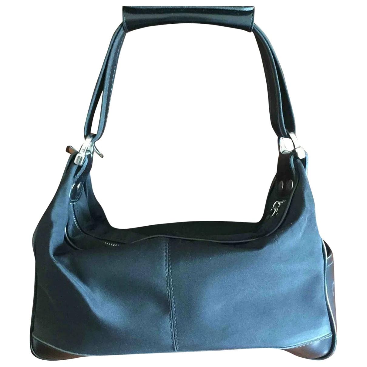 Tods \N Handtasche in  Schwarz Leinen