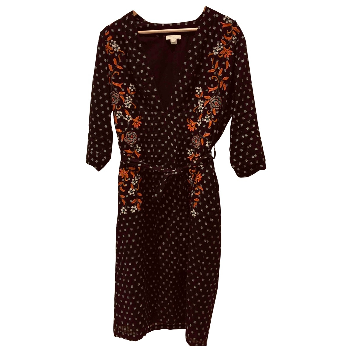 Hoss Intropia \N Kleid in  Schwarz Baumwolle