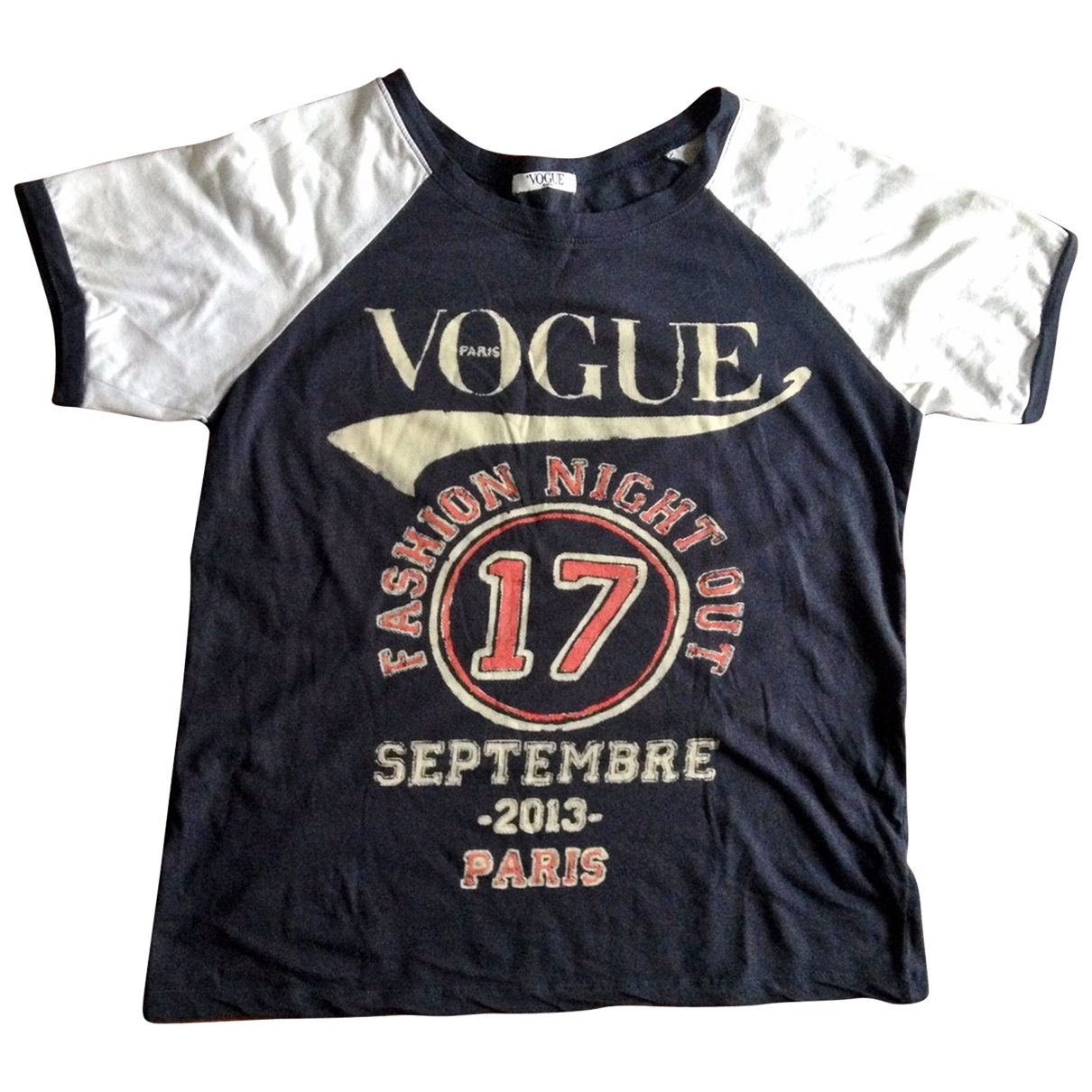 Vogue \N Navy Cotton  top for Women One Size International