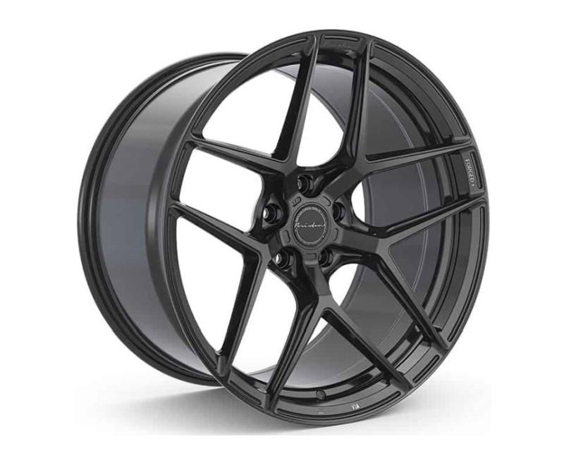 Brixton RF7 Satin Black Wheel Package 22x9 +23   22x10.5 +35 5x120  Tesla Model X